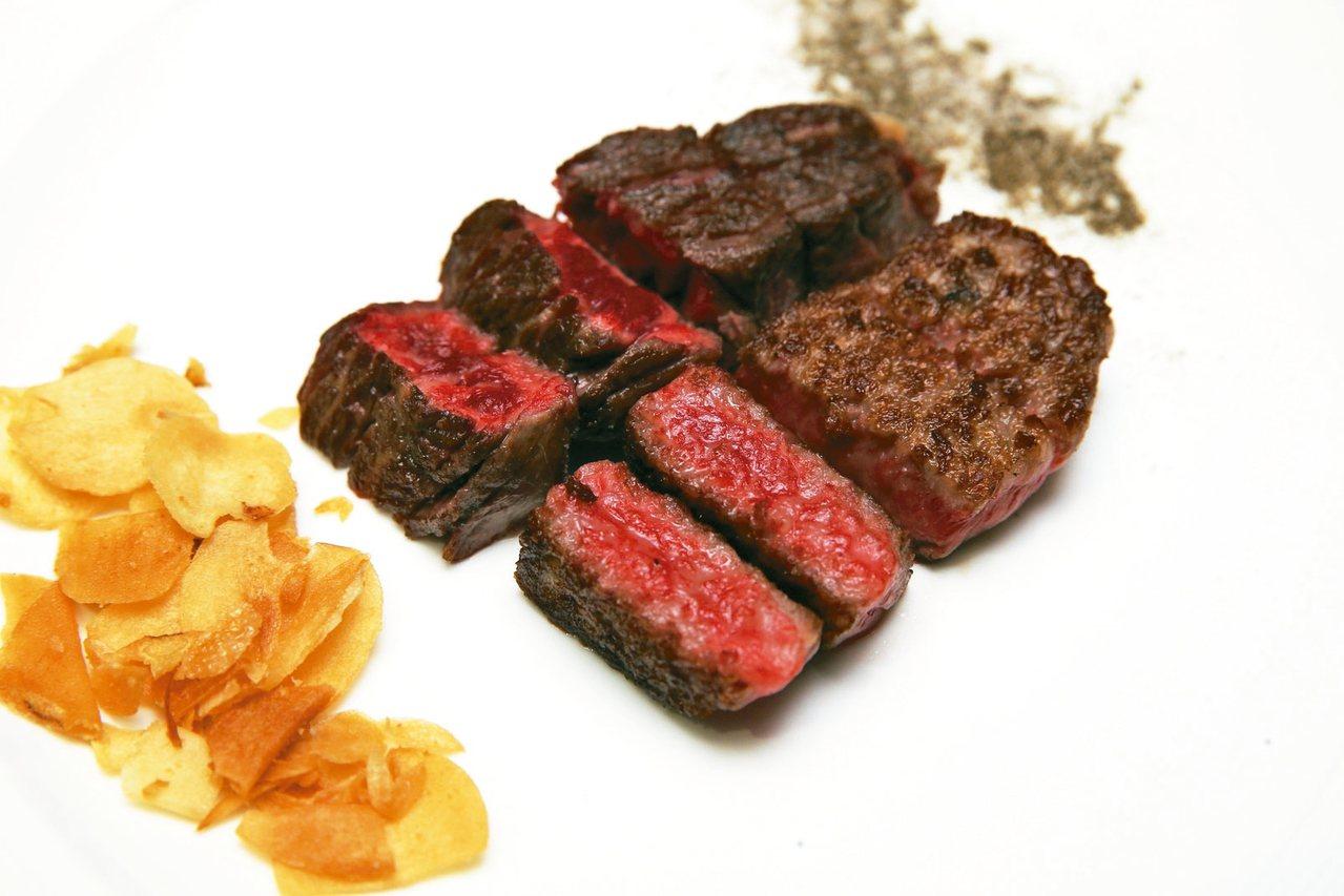 松阪級和牛牛排 圖/徐兆玄