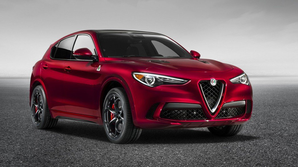 Alfa Romeo Stelvio。 摘自Alfa Romeo