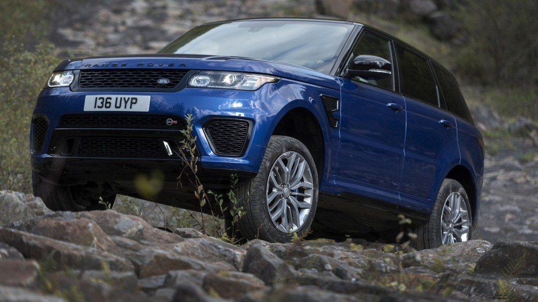Land Rover Range Rover Sport。 摘自Land Rov...