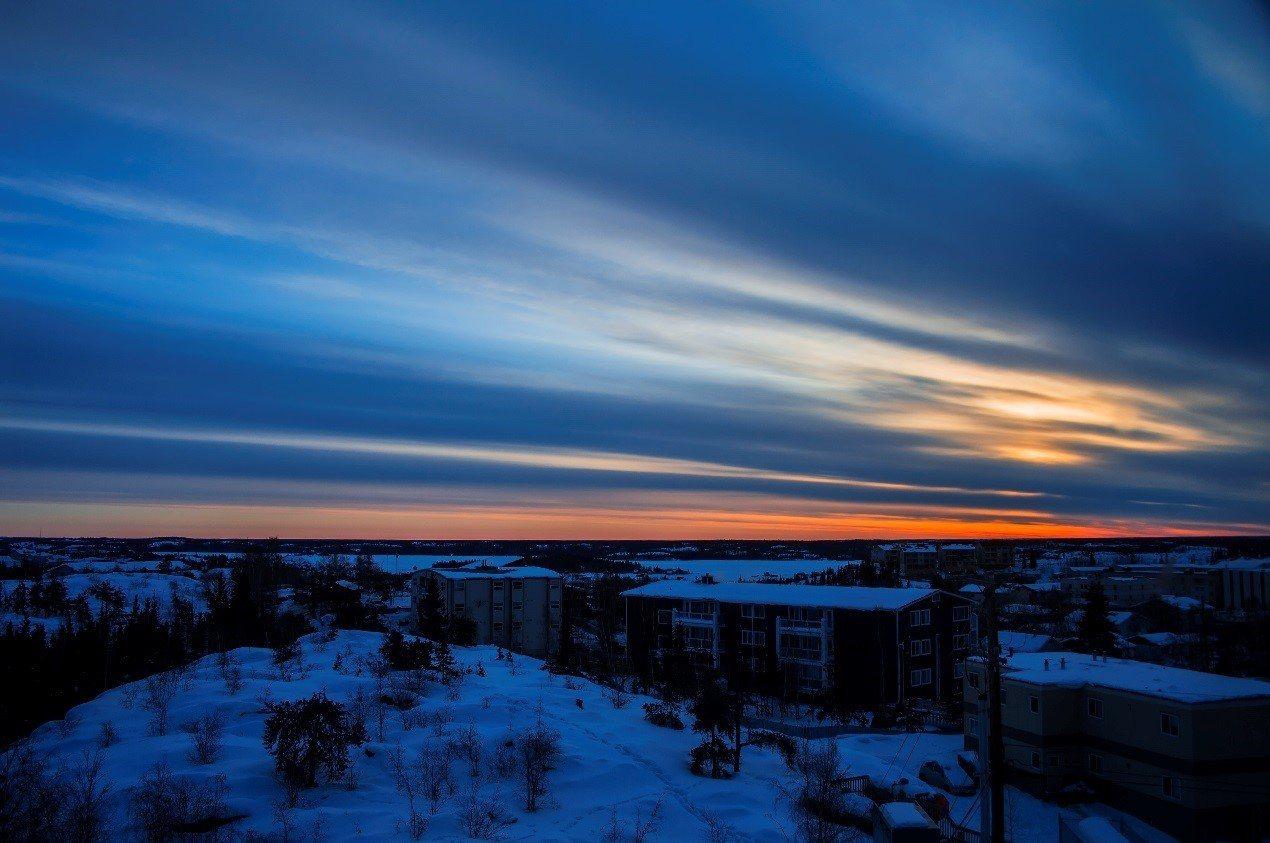 日出美景。2016有行旅極光攝影團員唐金玲拍攝。