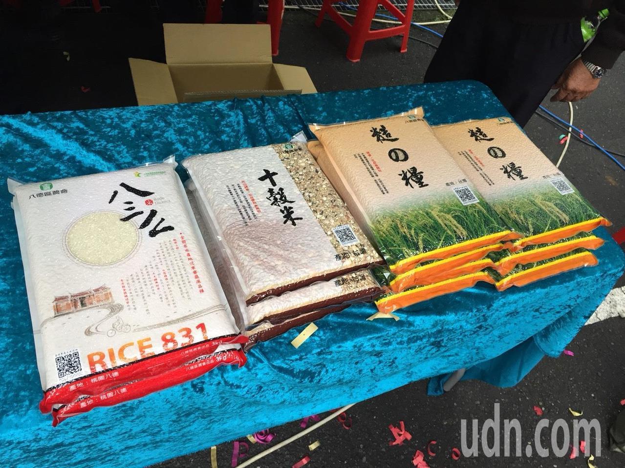 不只白米和穀米品質優良、口感好吃,桃園市八德區農會今年推出新品「糙の糧」,強力行...