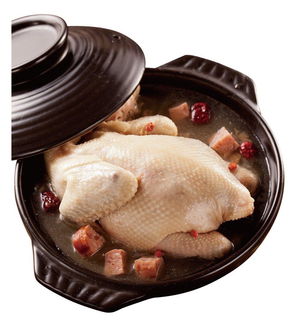 金華干貝燉雞,售價359元。圖/全聯提供