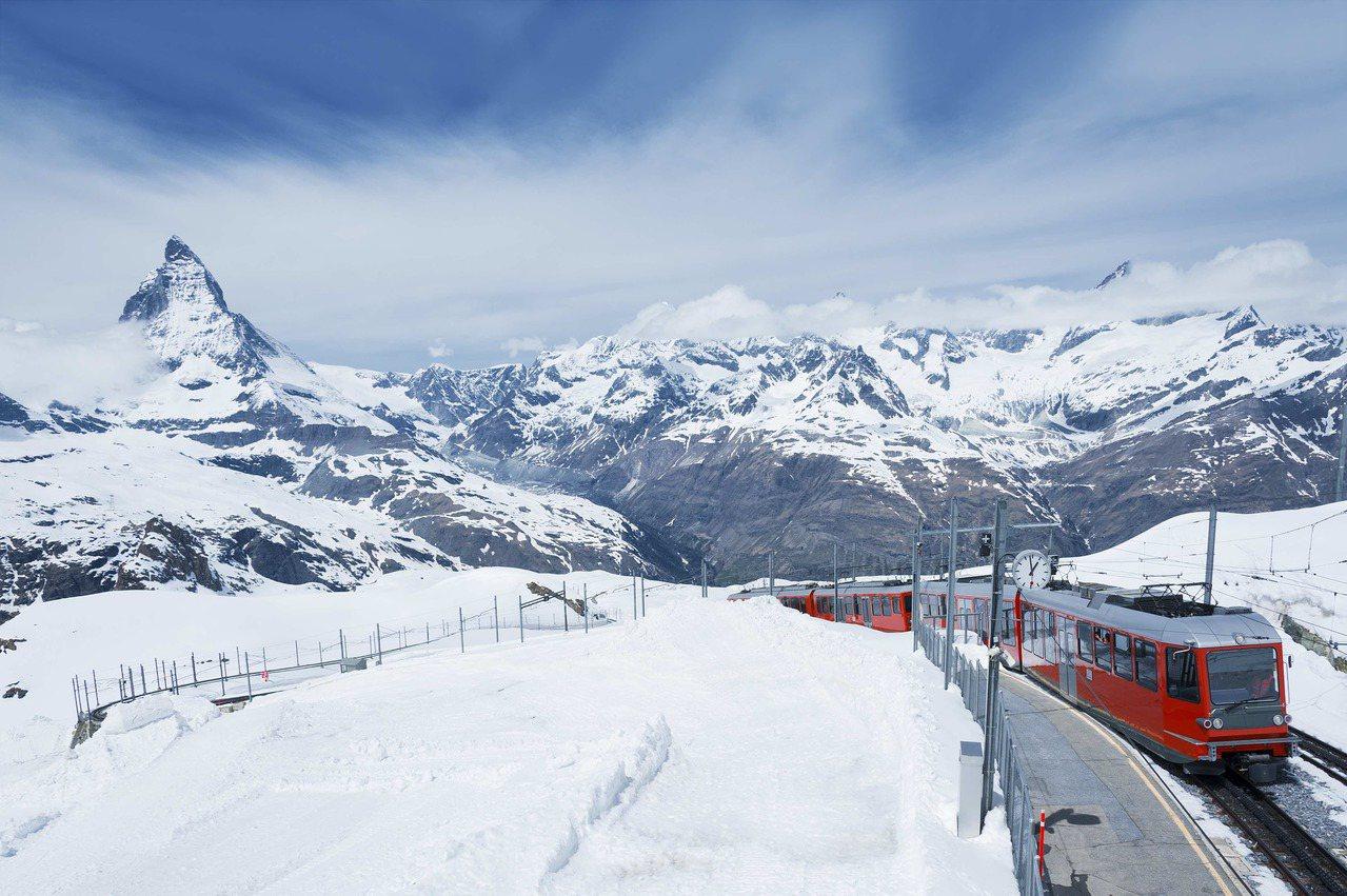 瑞士鐵道旅遊四季皆美。圖/飛達旅遊提供