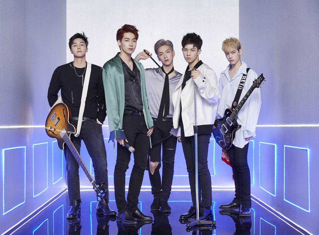 南韓樂團N.Flying。圖/HNE ASIA 提供