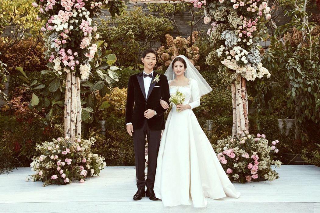 雙宋結婚,為演藝圈添不少喜氣。圖/CFP