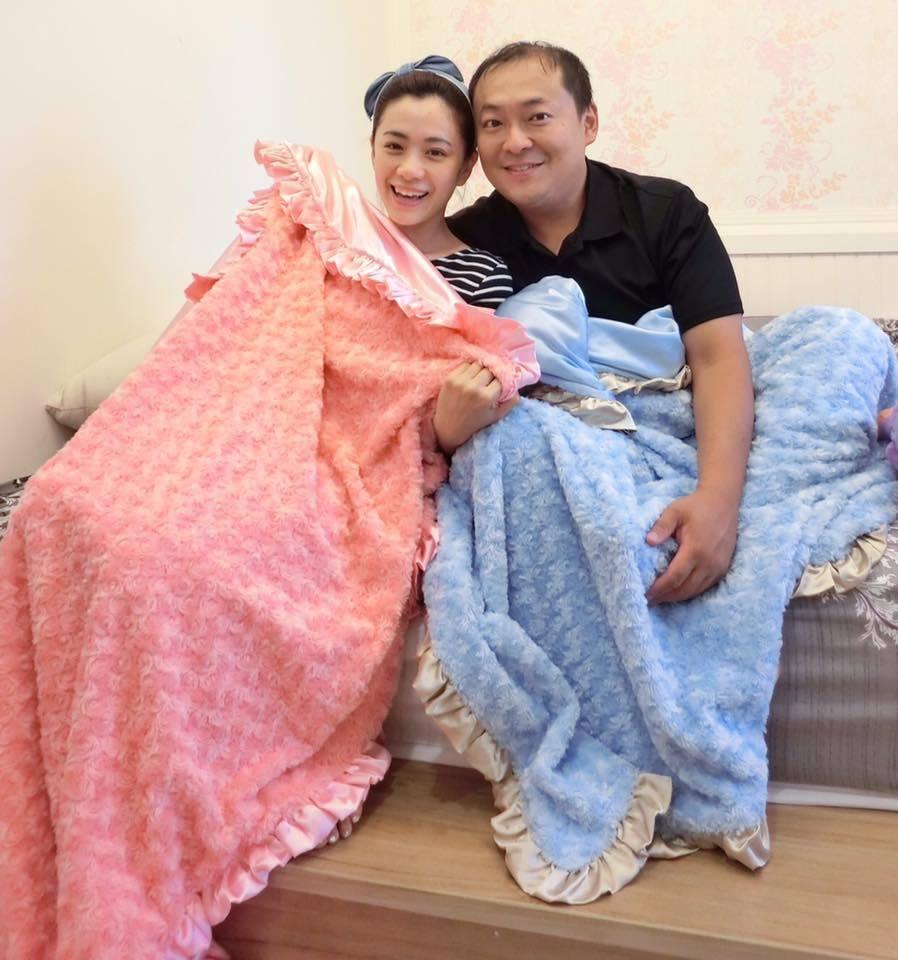 柯以柔(左)和郭宗坤婚變鬧到現在仍未解決。圖/柯以柔臉書