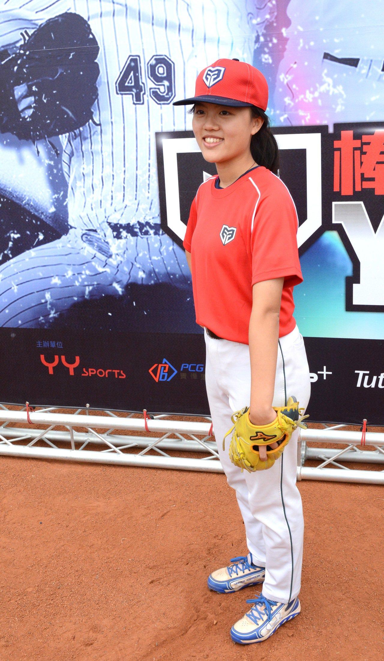 復興實中的林庭瑋去年在黑豹旗飆出12K,是「YY Baseball Camp」訓...