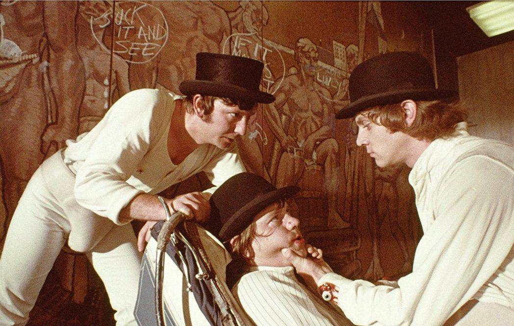 「發條橘子」在台終於解禁,可望正式在戲院上映。圖/摘自imdb