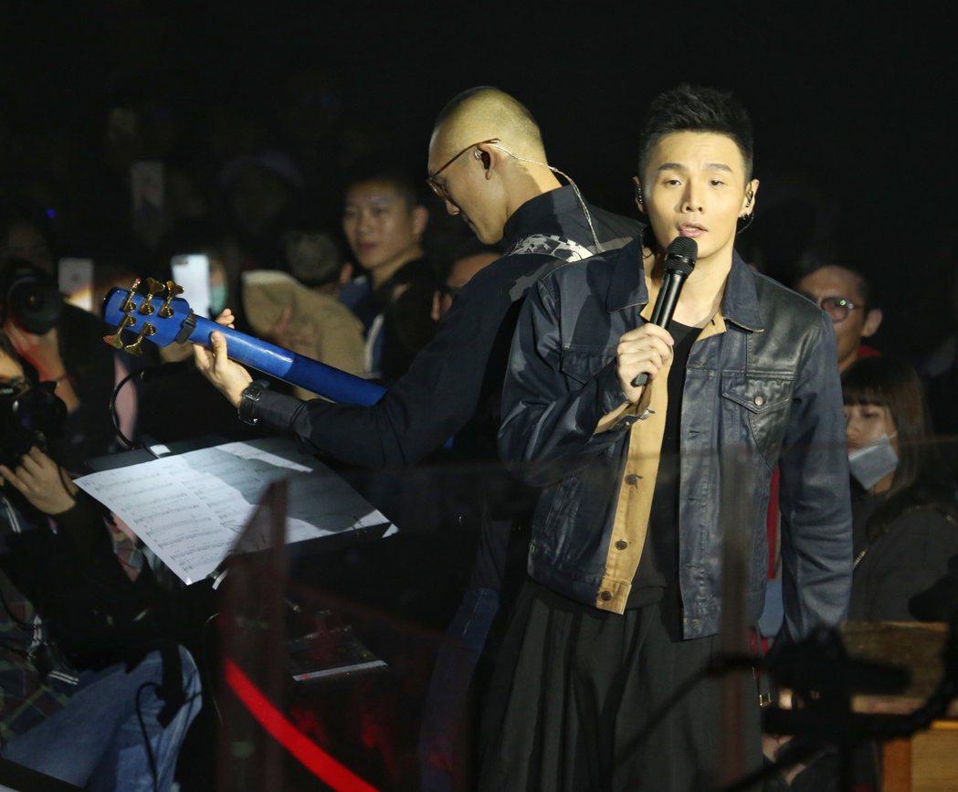 李榮浩新歌演唱會。記者陳立凱/攝影