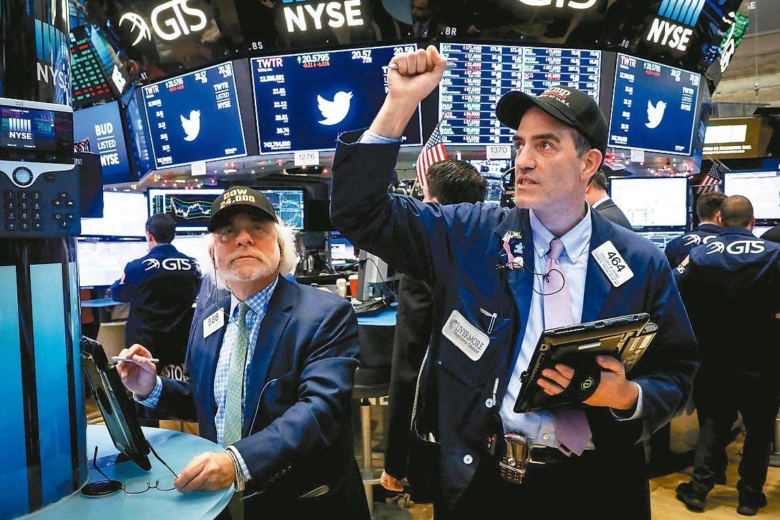 美國就業數據亮麗,激勵道瓊指數上周五大漲逾百點再創高,分析師指出,未來一周只要美...