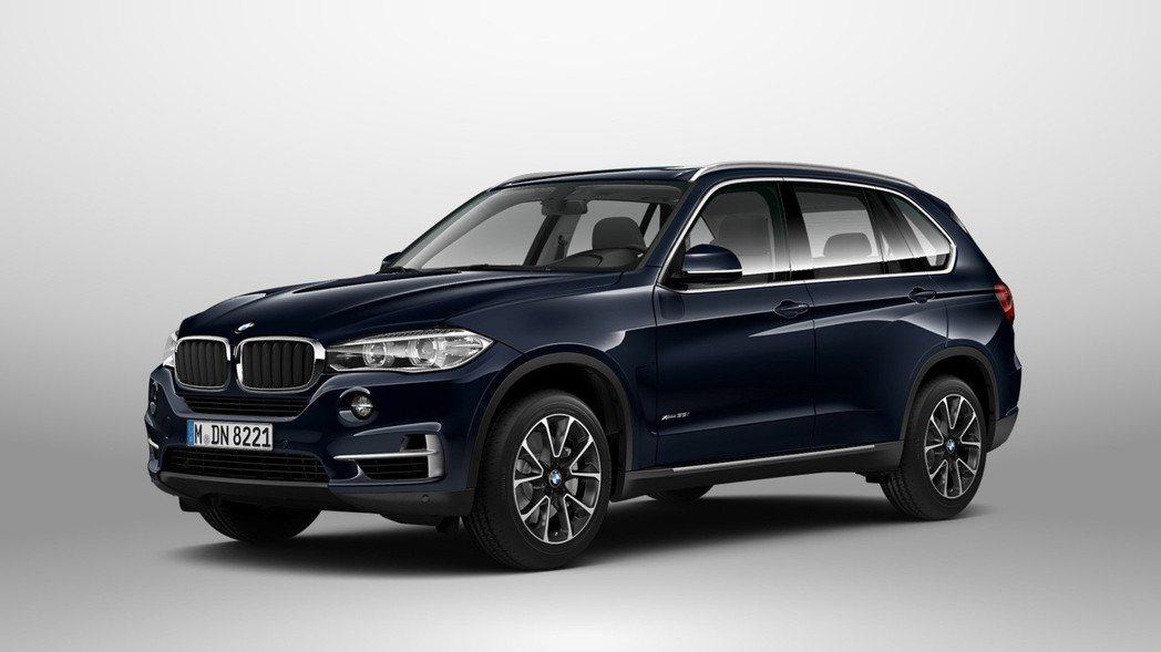 BMW X5。 圖/汎德提供