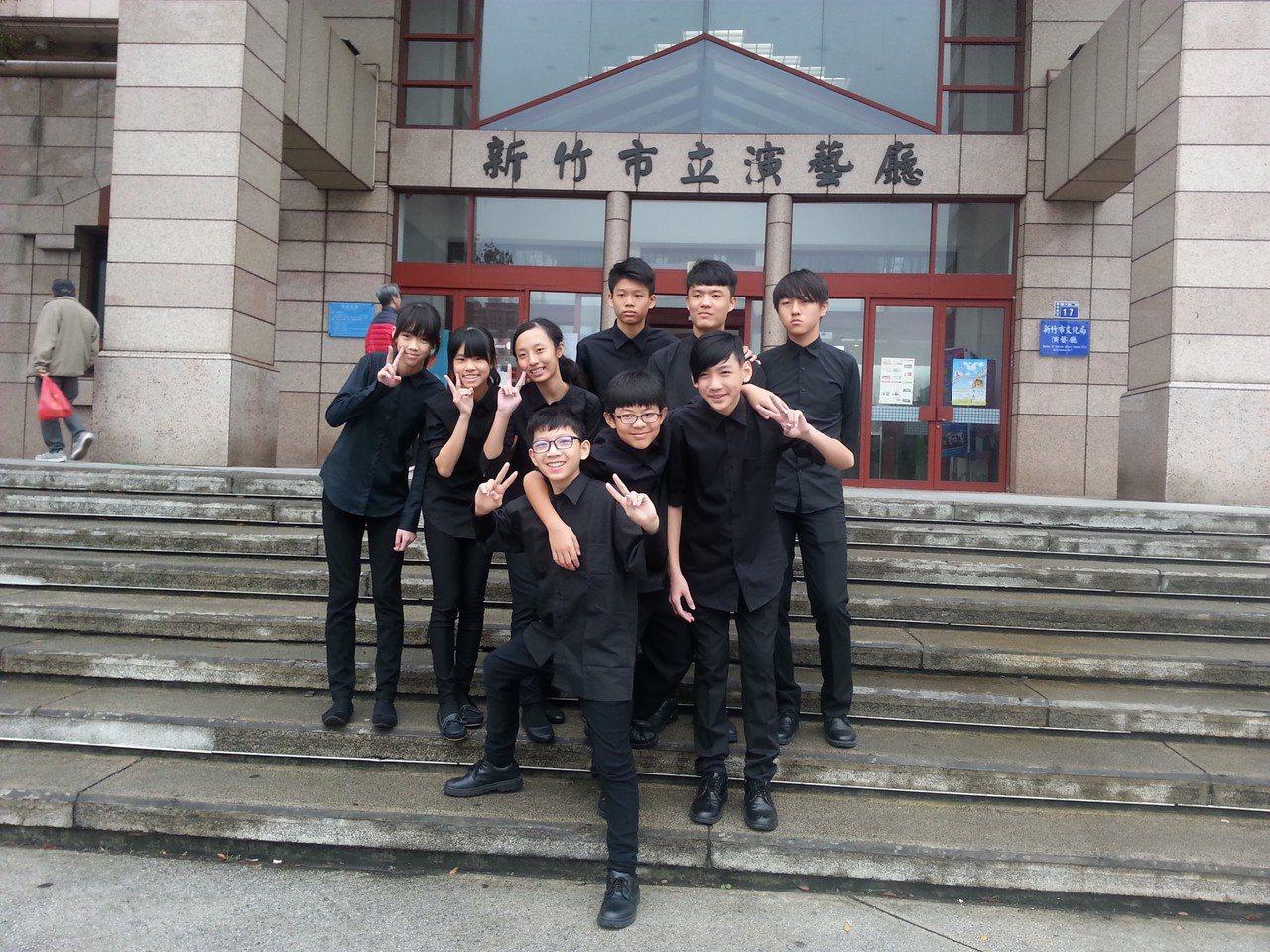 光華國中打擊樂合奏國中團體組榮獲優等進入全國賽。圖/新竹市府教育處提供