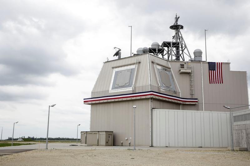 圖為陸基神盾飛彈攔截系統基地。路透