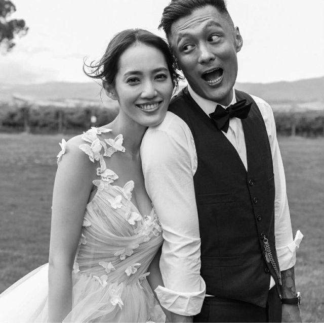 余文樂(右)與王棠云(左)日前宣布結婚,近期盛傳2人是奉子成婚。圖/摘自IG