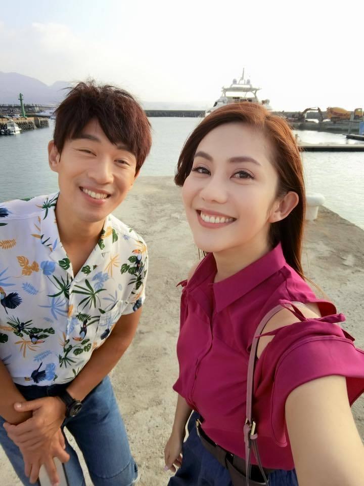 李政穎、王宇婕合作演出「春風愛河邊」。圖/華視提供