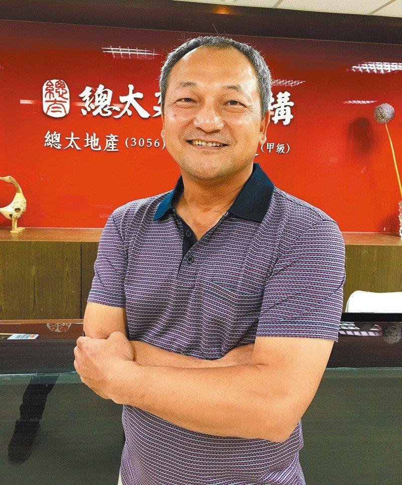 總太集團總裁吳錫坤。