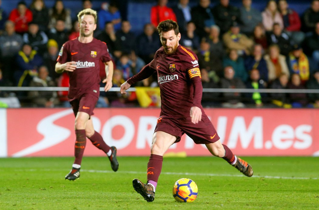 梅西為巴薩進525球,追平歐洲足壇紀錄。 路透社