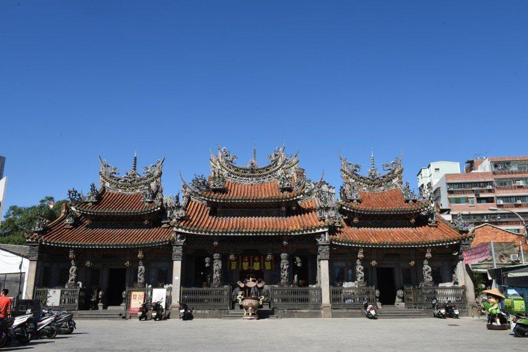 三峽祖師廟前殿。 圖/作者自攝