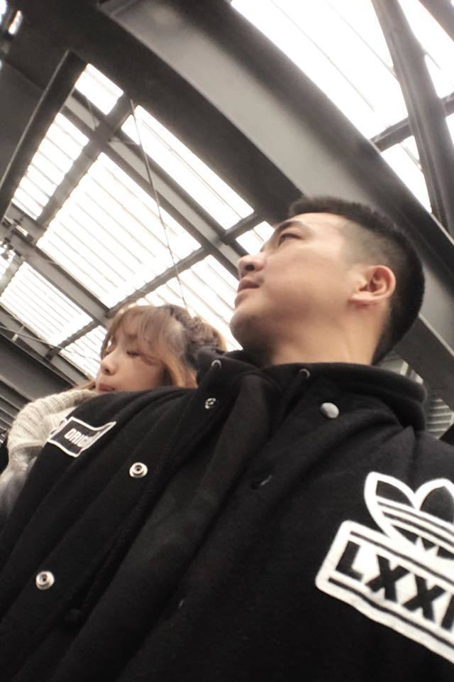 李沛旭與蔡淑臻已交往多年,11日一早就在臉書粉絲團放閃。 圖/擷自臉書。