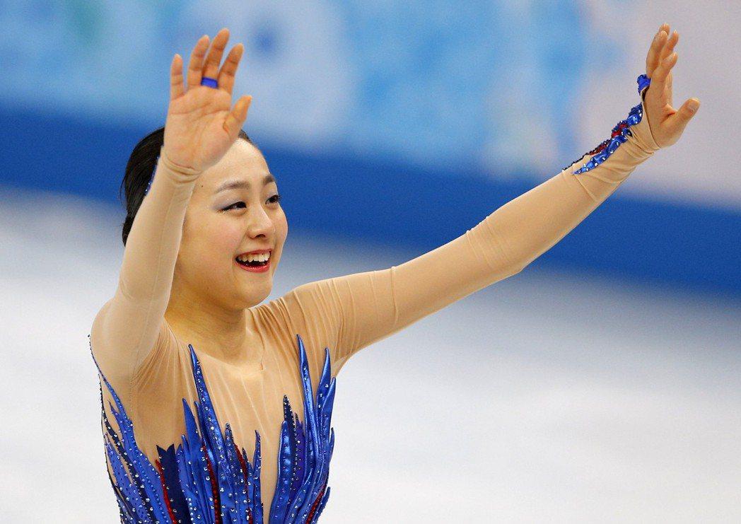 淺田真央於2014年奧運出賽。 報系資料照