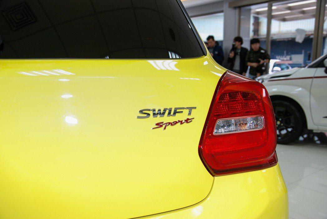 Swift Sport 是否會導入「6MT 」車型,原廠並未將話說死。 記者林鼎智/攝影