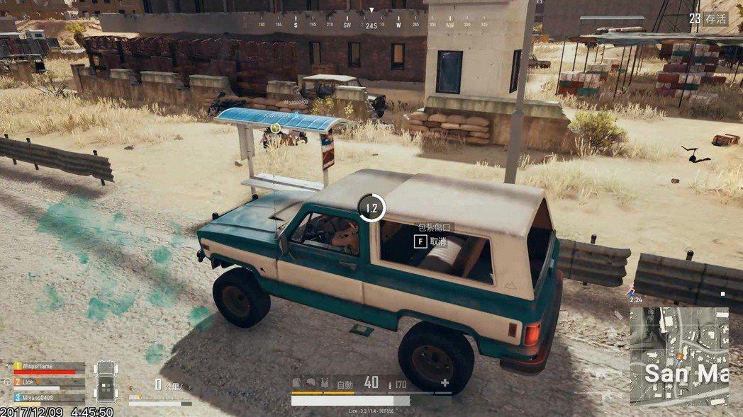 Pickup越野車是沙漠的新車種