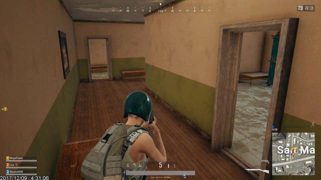 新建築風格剛開始很容易迷路
