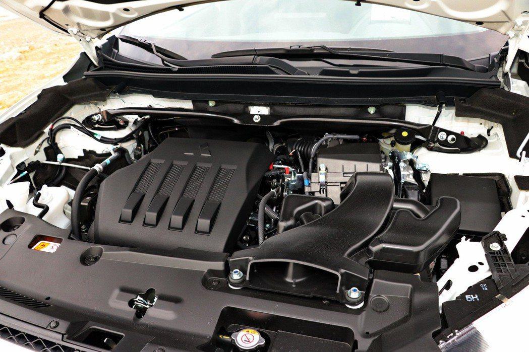 全新1.5T缸內直噴渦輪引擎。 記者陳威任/攝影