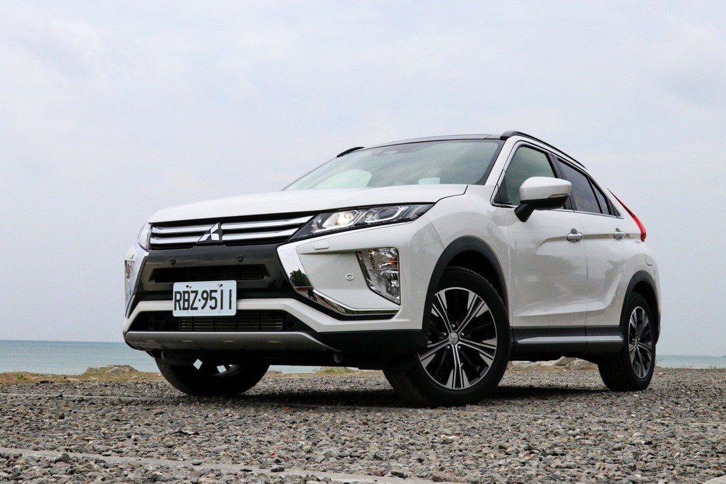 Mitsubishi Eclipse Cross將成為另一台話題進口跨界休旅。 ...
