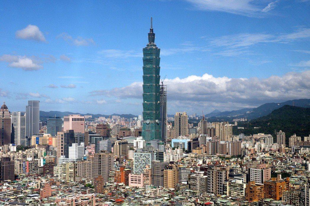 台北的房屋越長越高。 圖/歐新社