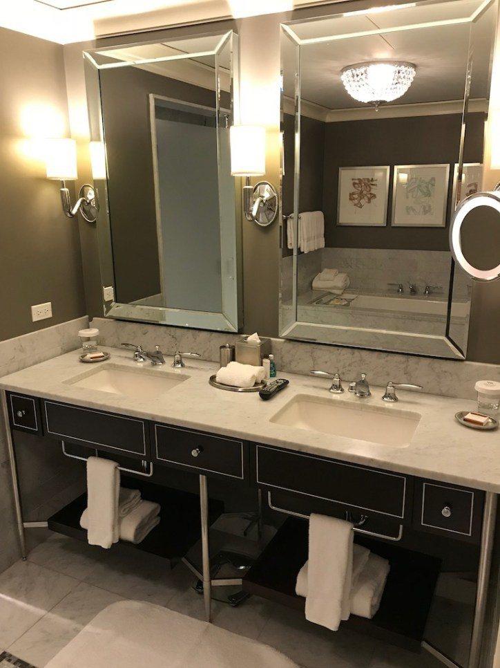 雙水槽設計!這是TripPlus專欄作家Sharon,評量酒店高不高級的重要指標...