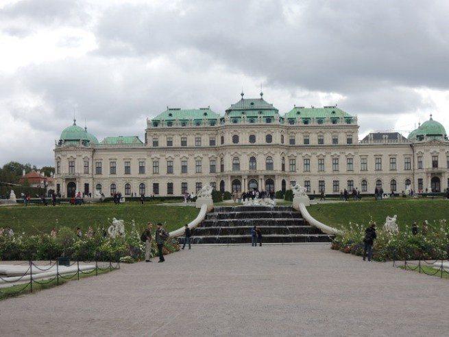 維也納的熊布倫宮 (Schloss Schönbrunn)圖文來自於:TripP...