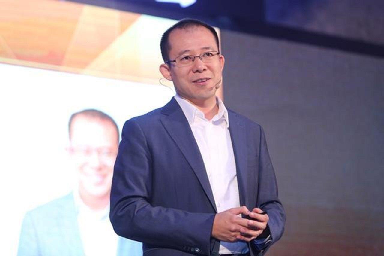 騰訊總裁劉熾平。比特網