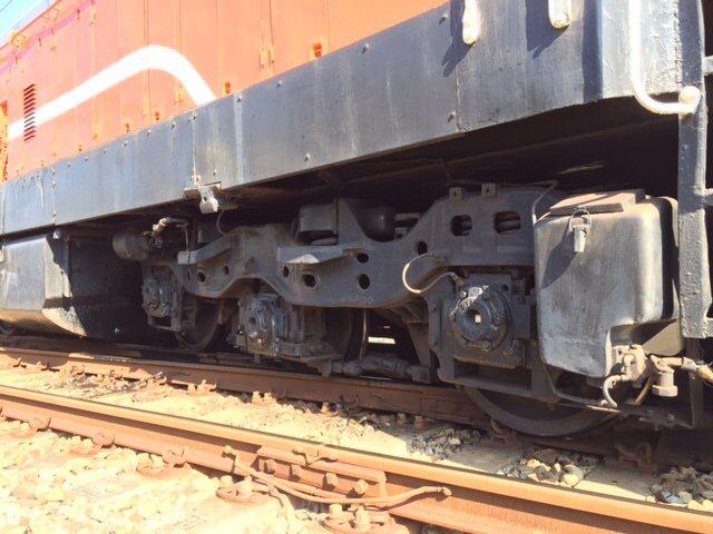台鐵區間調車出軌。圖/台鐵提供