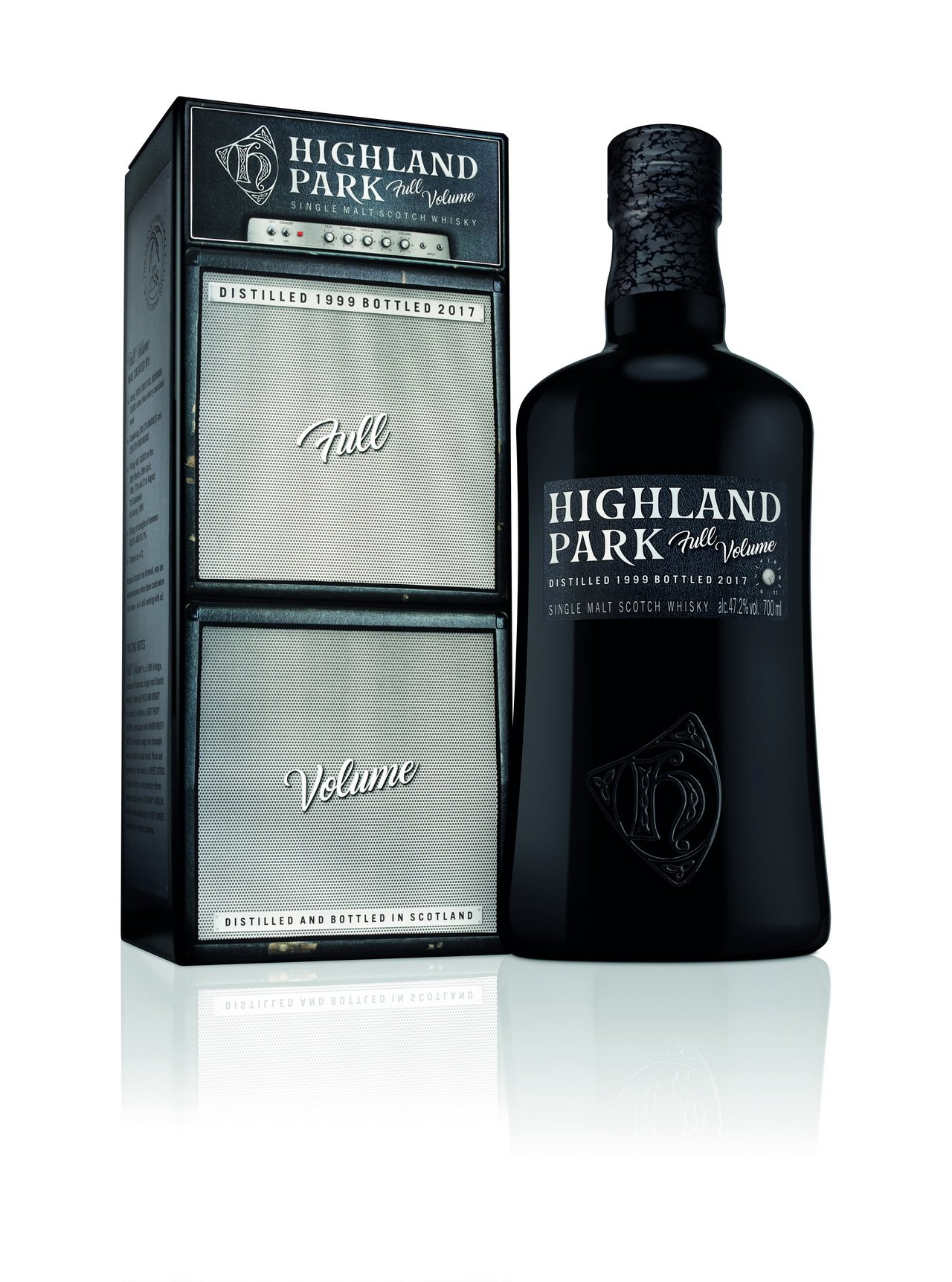 當威士忌與音樂結合,Full Volume創新發想,限量上市。圖/台灣愛丁頓寰盛...
