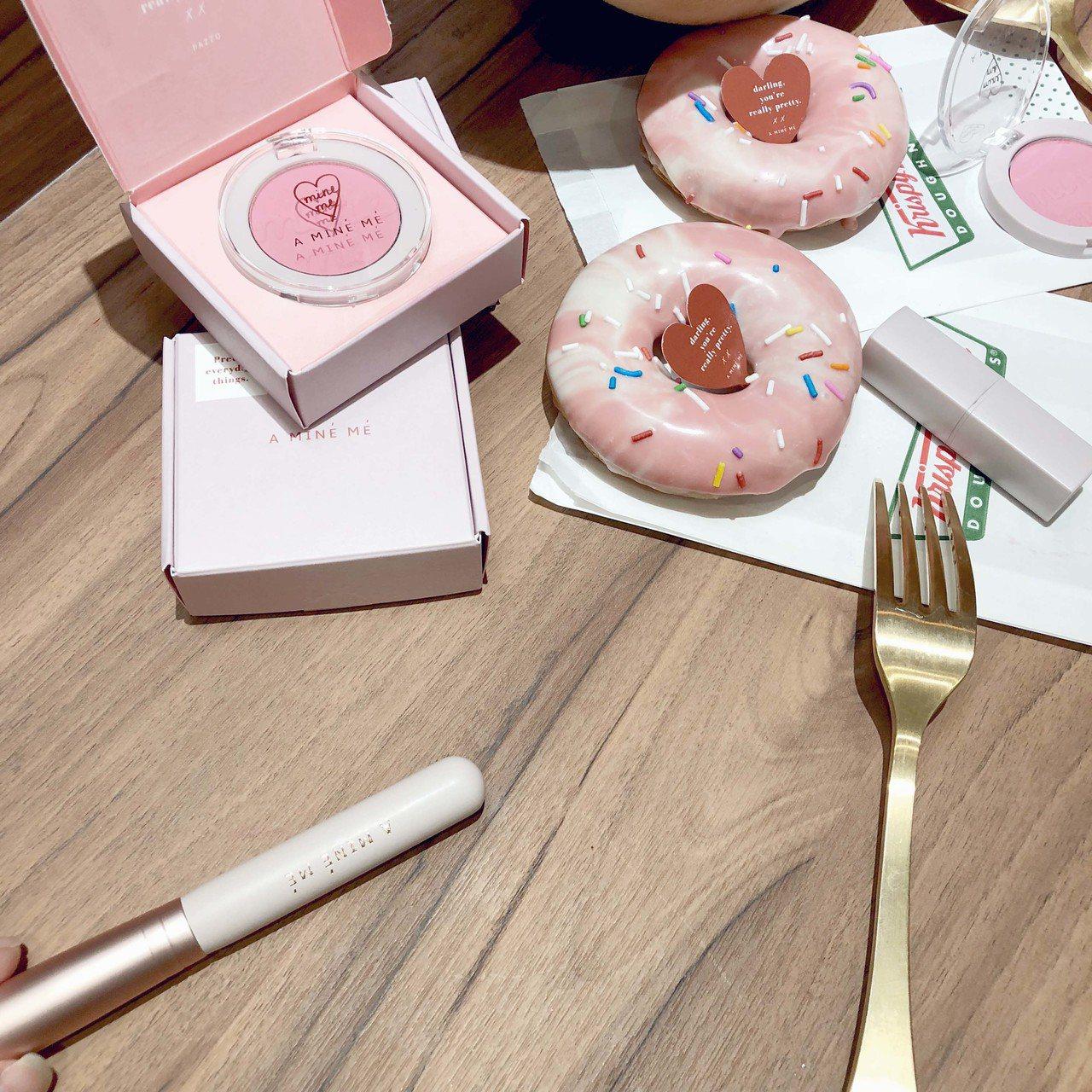 12月13日至12月29日聯名期間,至PAZZO官網購買甜甜圈腮紅系列,即可換限...