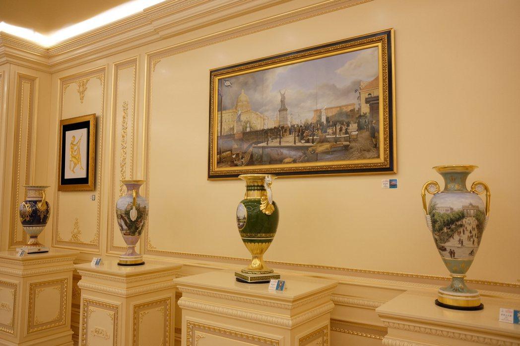 「2017 KPM王者御瓷─吟誦柏林瓷器藝術的榮耀」特展,展出多款要價千萬的大件...
