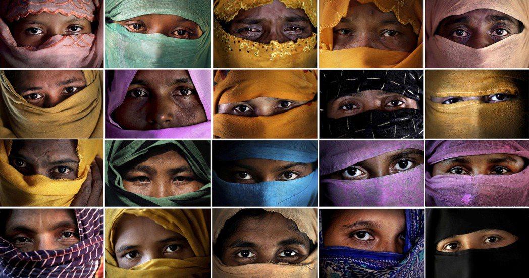 美聯社獨家採訪遭緬甸軍警性侵的29名洛興亞婦女,年齡介於13到35歲,當中有被害...