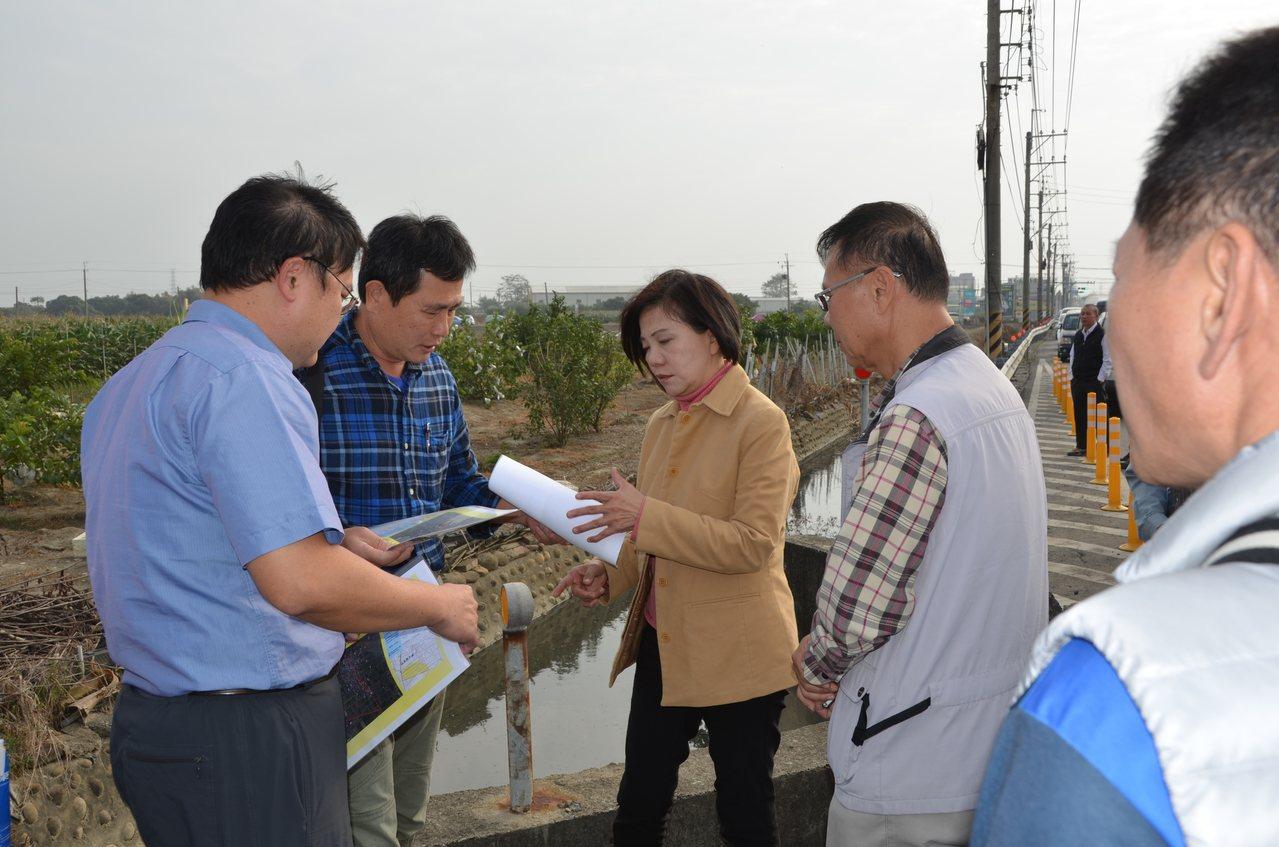 農水路權責難分惹民怨,立委葉宜津要求農委會儘速釐清。圖/葉宜津服務處提供