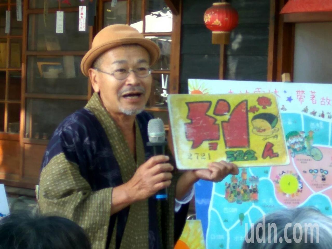 日本的紙戲人也來演出精彩的故事。記者蔡維斌/攝影
