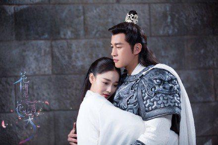 何潤東(右)、張馨予主演「花謝花飛花滿天」。圖/CHOCO TV提供