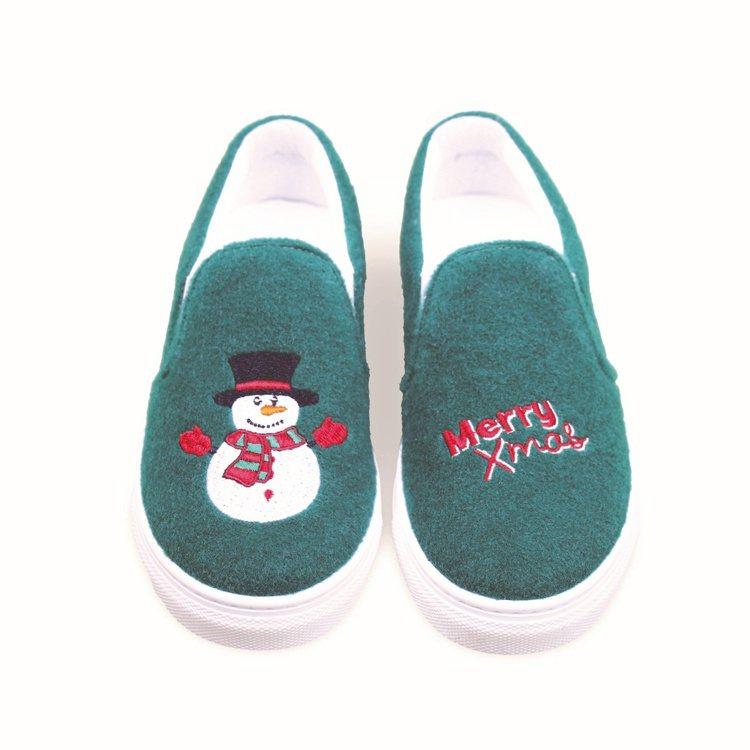 Joshua Sanders Kidz Xmas系列童鞋,7,780元。圖/ba...