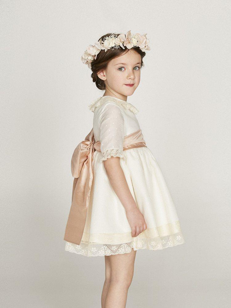 BLANCHE嬰幼兒時尚選品店引進歐洲高品質的嬰幼兒服飾,圖為西班牙品牌NANO...