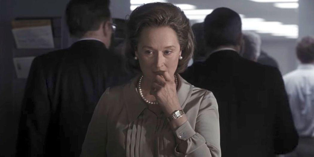梅莉史翠普以「郵報:密戰」的演出再度入圍影后。圖/翻攝自Youtube