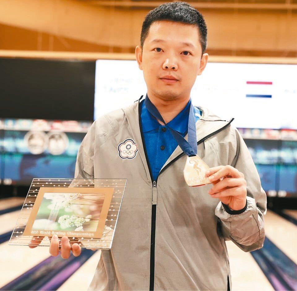 吳浩銘今年亞洲男子選手排名第一,明年盼選上亞運國手。圖/吳浩銘提供