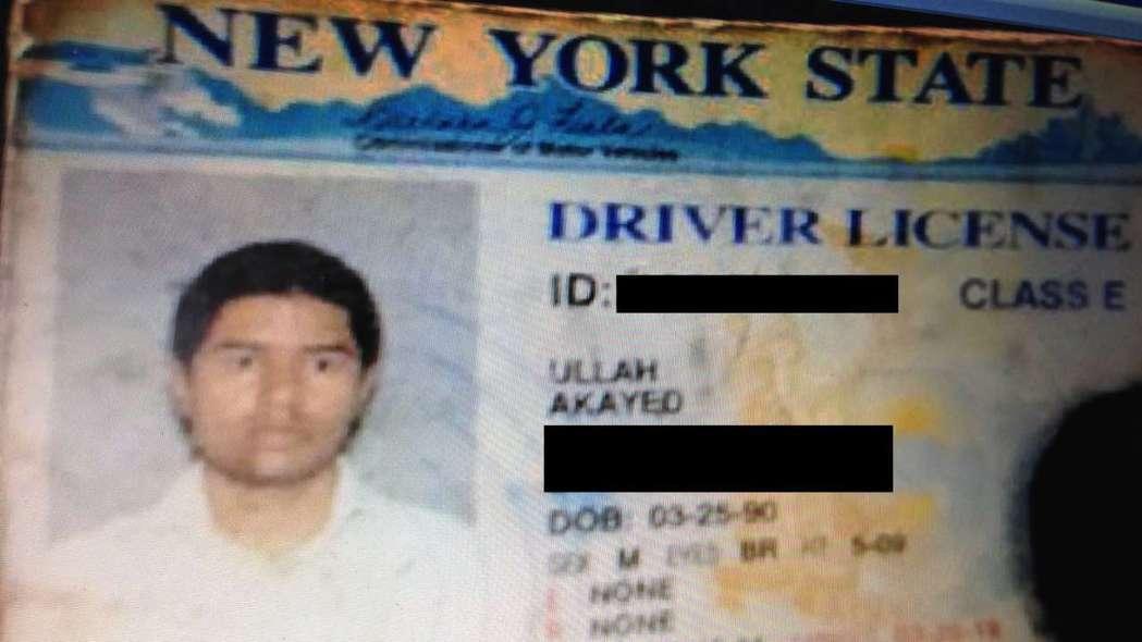紐約客運爆炸案嫌犯身分曝光。圖擷自美國新聞網站「每日野獸」