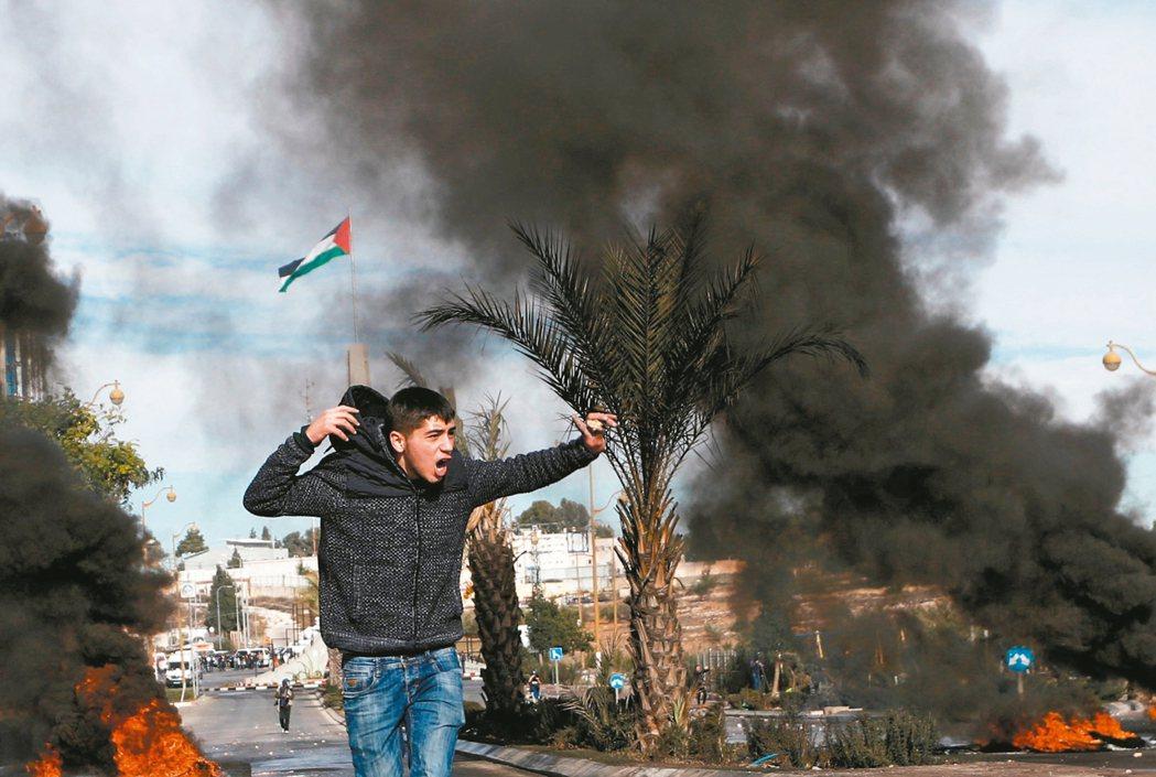 土耳其總統艾爾段今天呼籲國際間,承認以色列占領的東耶路撒冷為「巴勒斯坦首都」。圖...