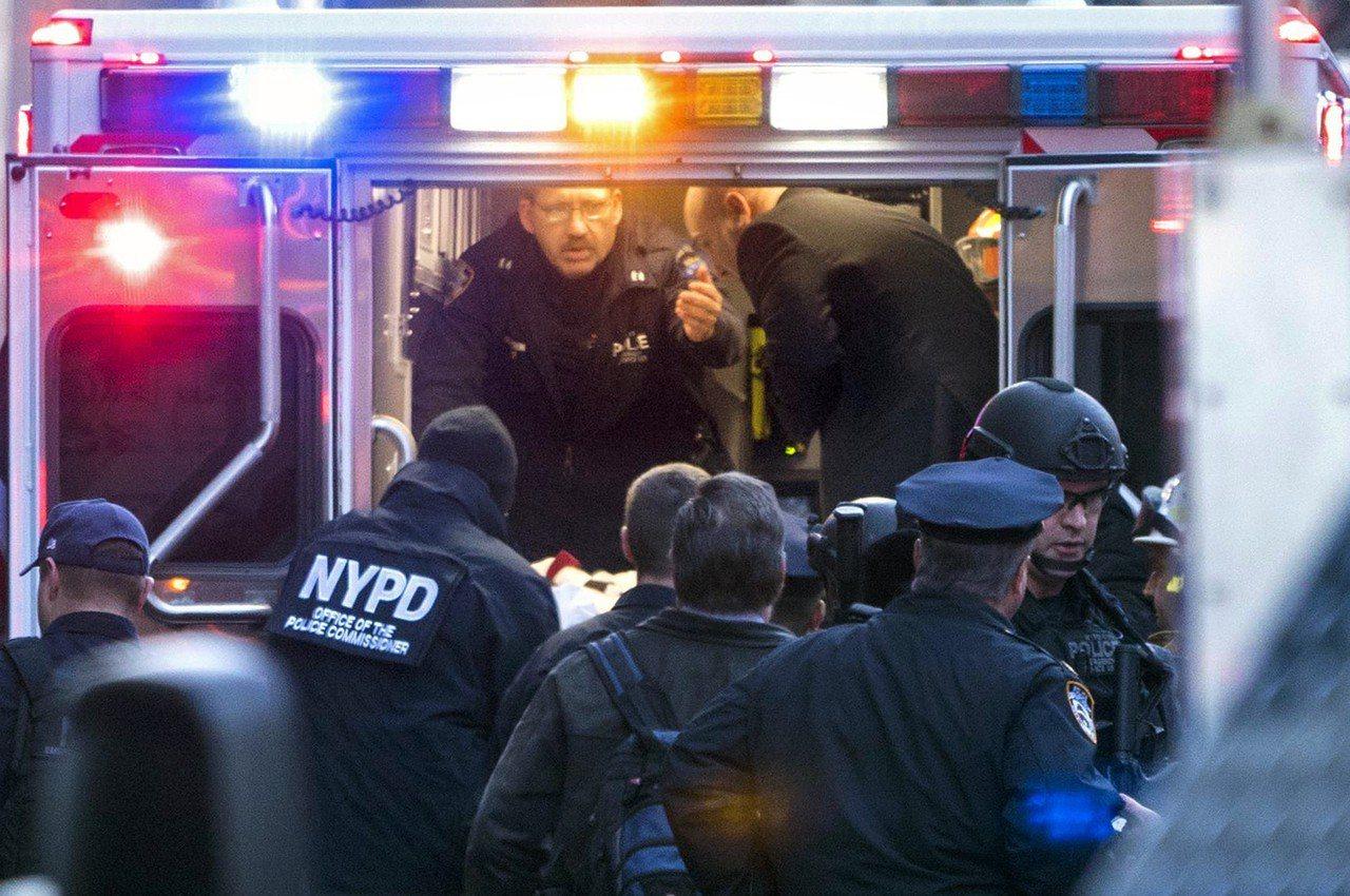 紐約今發生爆炸案。七年前持F4親屬移民簽證從孟加拉國來美的27歲的烏拉=自製炸彈...