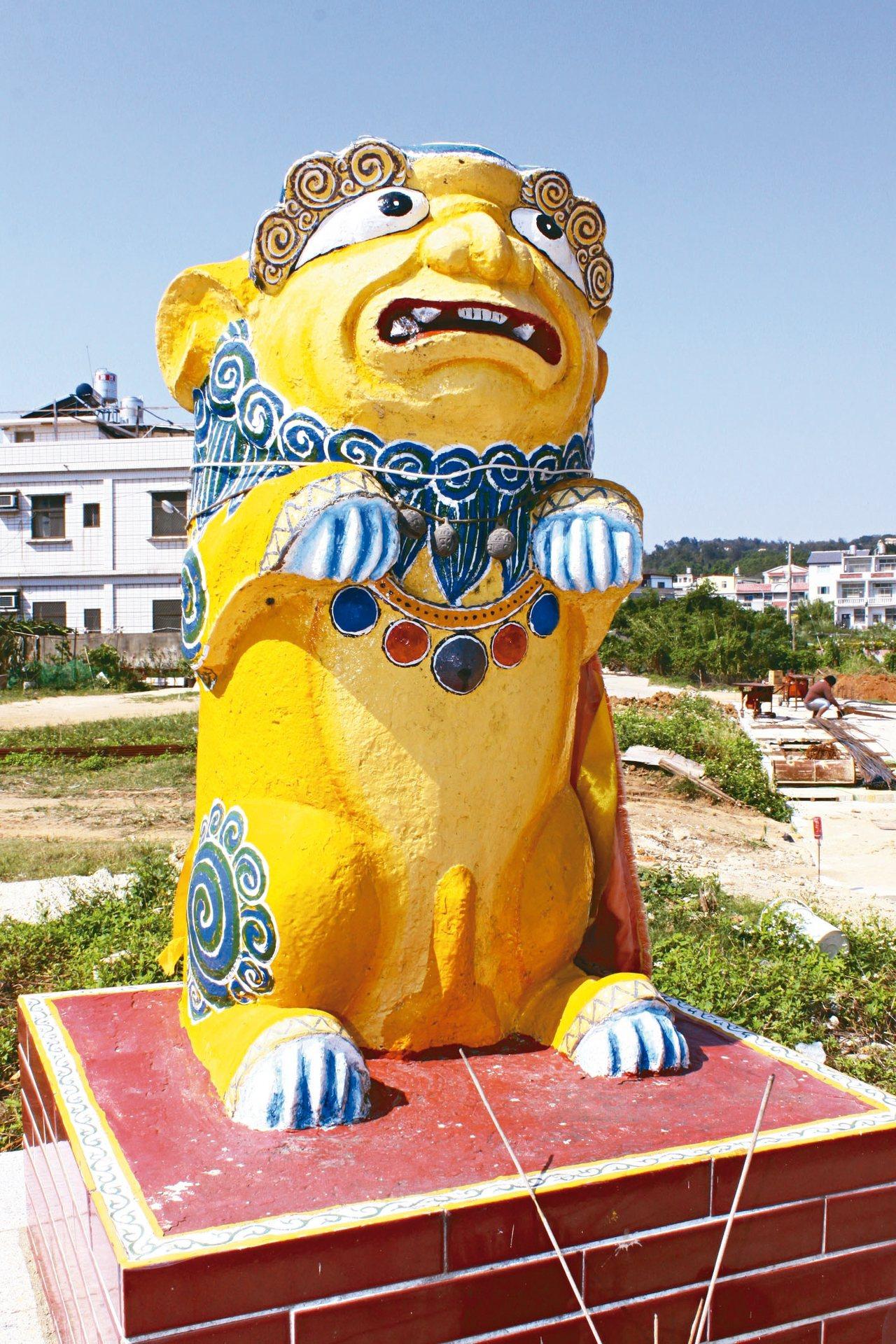 金門塔后風獅爺。 金門縣觀光處/提供