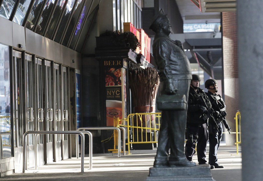 紐約曼哈頓11日發生爆炸案,嫌犯稱是為了支持伊斯蘭國(IS)。 歐新社